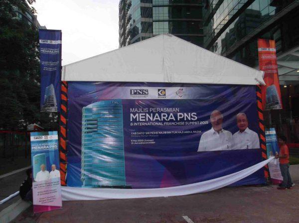 Majlis Perasmian Menara PNS & International Franchise @ Bangsar South